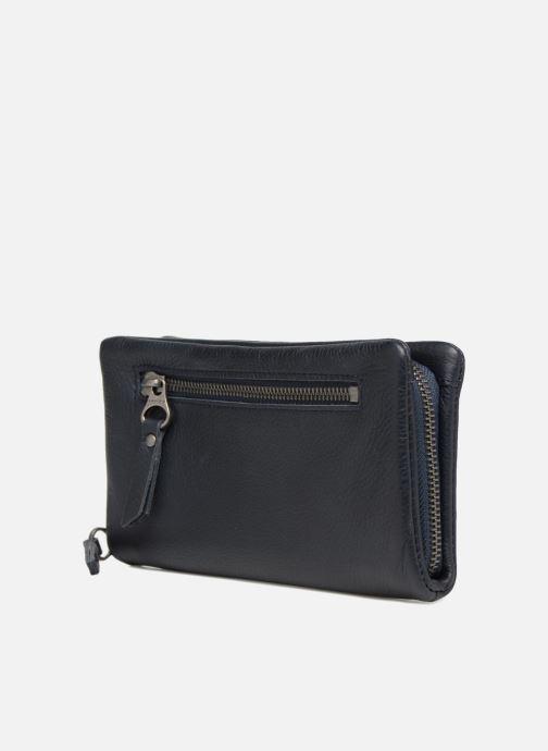 Portemonnaies & Clutches Sabrina Cara blau ansicht von rechts