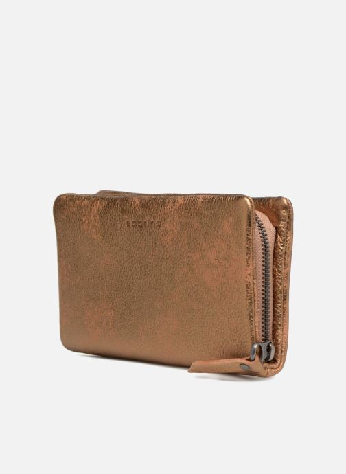Wallets & cases Sabrina Cara Bronze and Gold model view