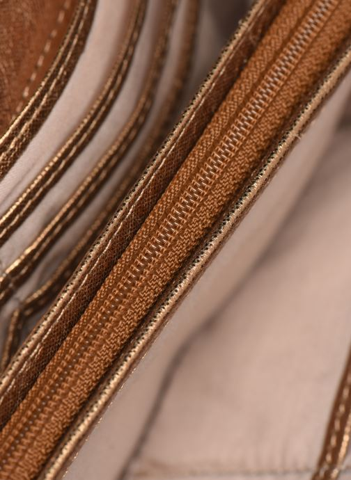 Petite Maroquinerie Sabrina Cara Or et bronze vue derrière