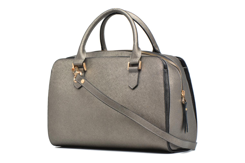Handtaschen Sabrina Carolina grau ansicht von rechts