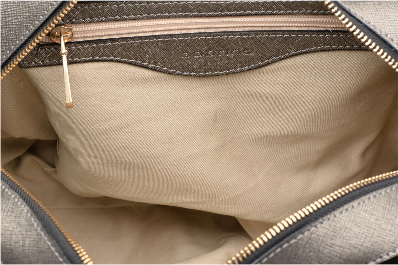 Handtaschen Sabrina Carolina grau ansicht von hinten
