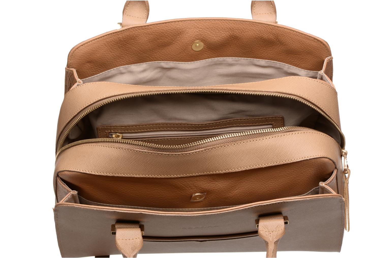 Håndtasker Sabrina Carolina Brun se bagfra