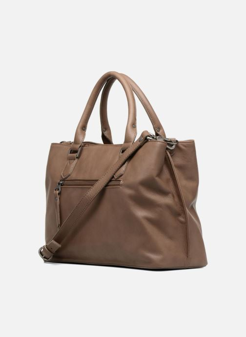Handtaschen Sabrina Martina braun ansicht von rechts