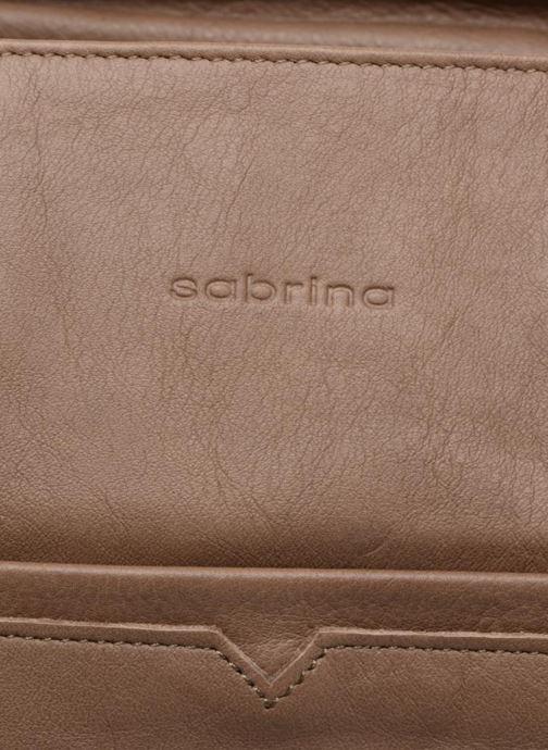 Handtaschen Sabrina Martina braun ansicht von links
