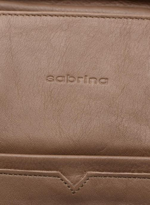Handbags Sabrina Martina Brown view from the left