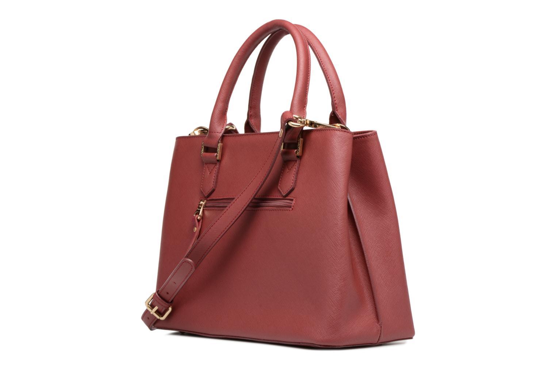 Handtaschen Sabrina Martina weinrot ansicht von rechts