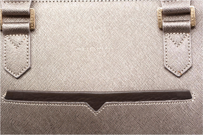 Handtaschen Sabrina Martina gold/bronze ansicht von links