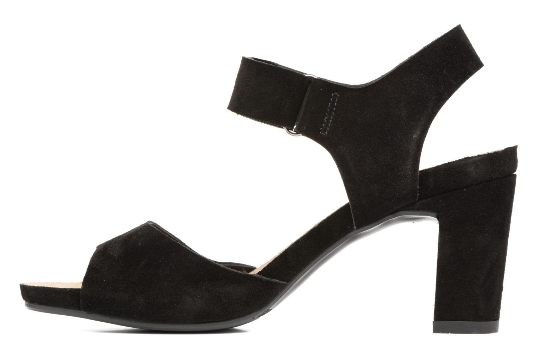 Sandales et nu-pieds Billi Bi Arabba Noir vue face
