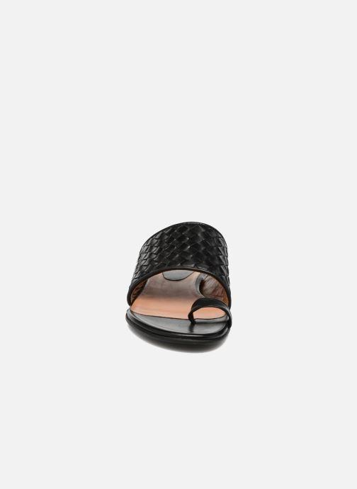 Mules et sabots Billi Bi Ancona Noir vue portées chaussures