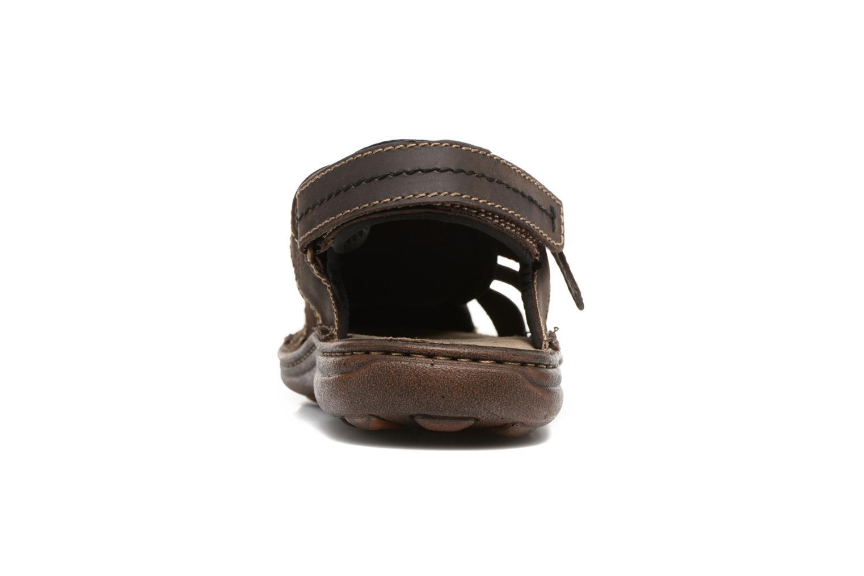 Sandales et nu-pieds Roadsign Georgie Marron vue droite