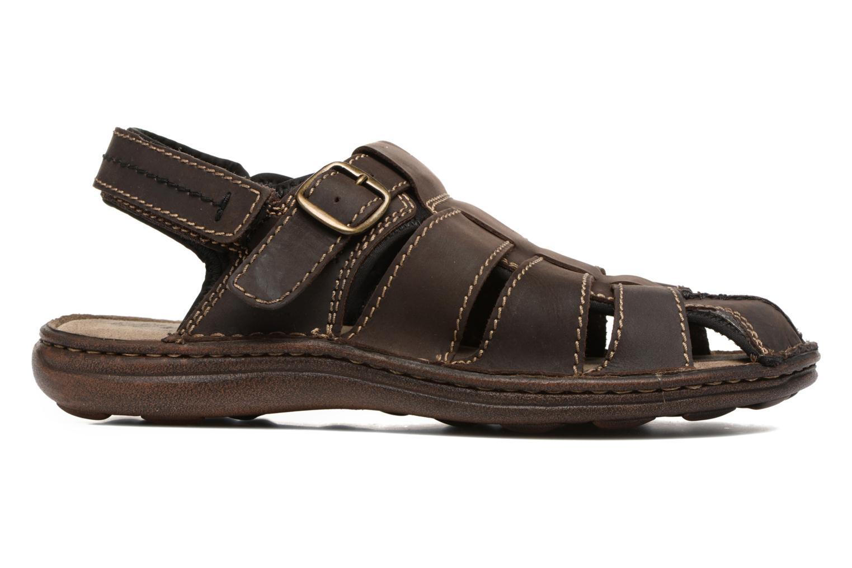 Sandales et nu-pieds Roadsign Georgie Marron vue derrière
