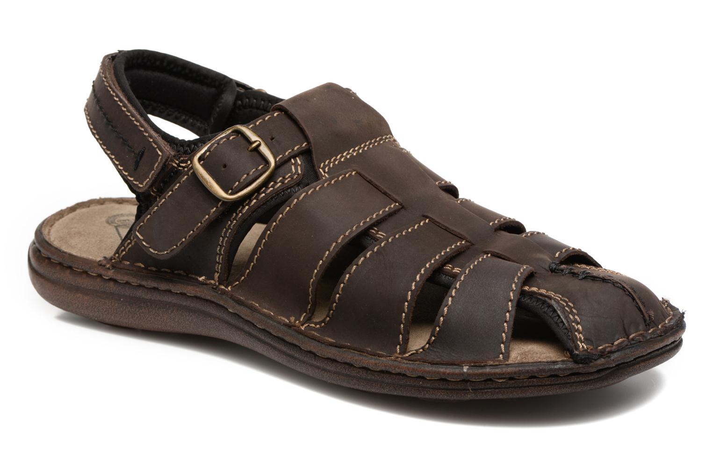 Sandales et nu-pieds Roadsign Georgie Marron vue détail/paire