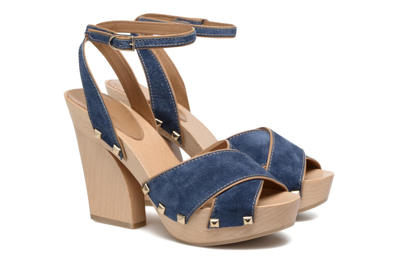 Sandalen Sonia Rykiel Sandale Sabot blau 3 von 4 ansichten
