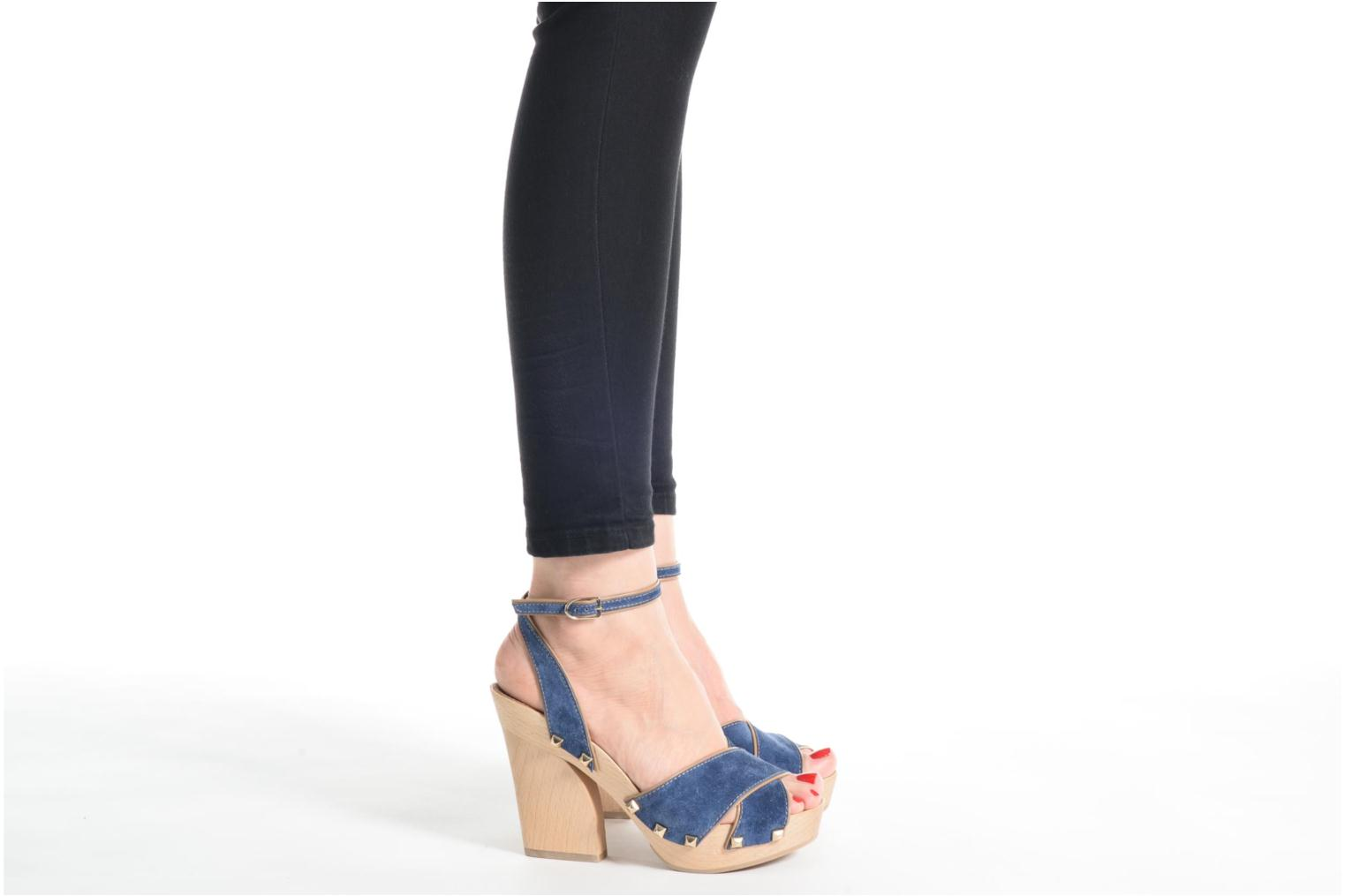 Sandals Sonia Rykiel Sandale Sabot Blue view from underneath / model view