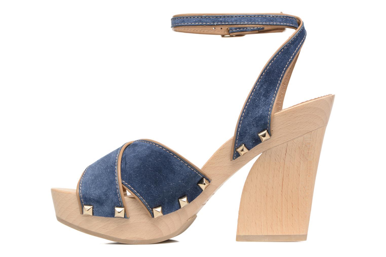 Sandalen Sonia Rykiel Sandale Sabot blau ansicht von vorne