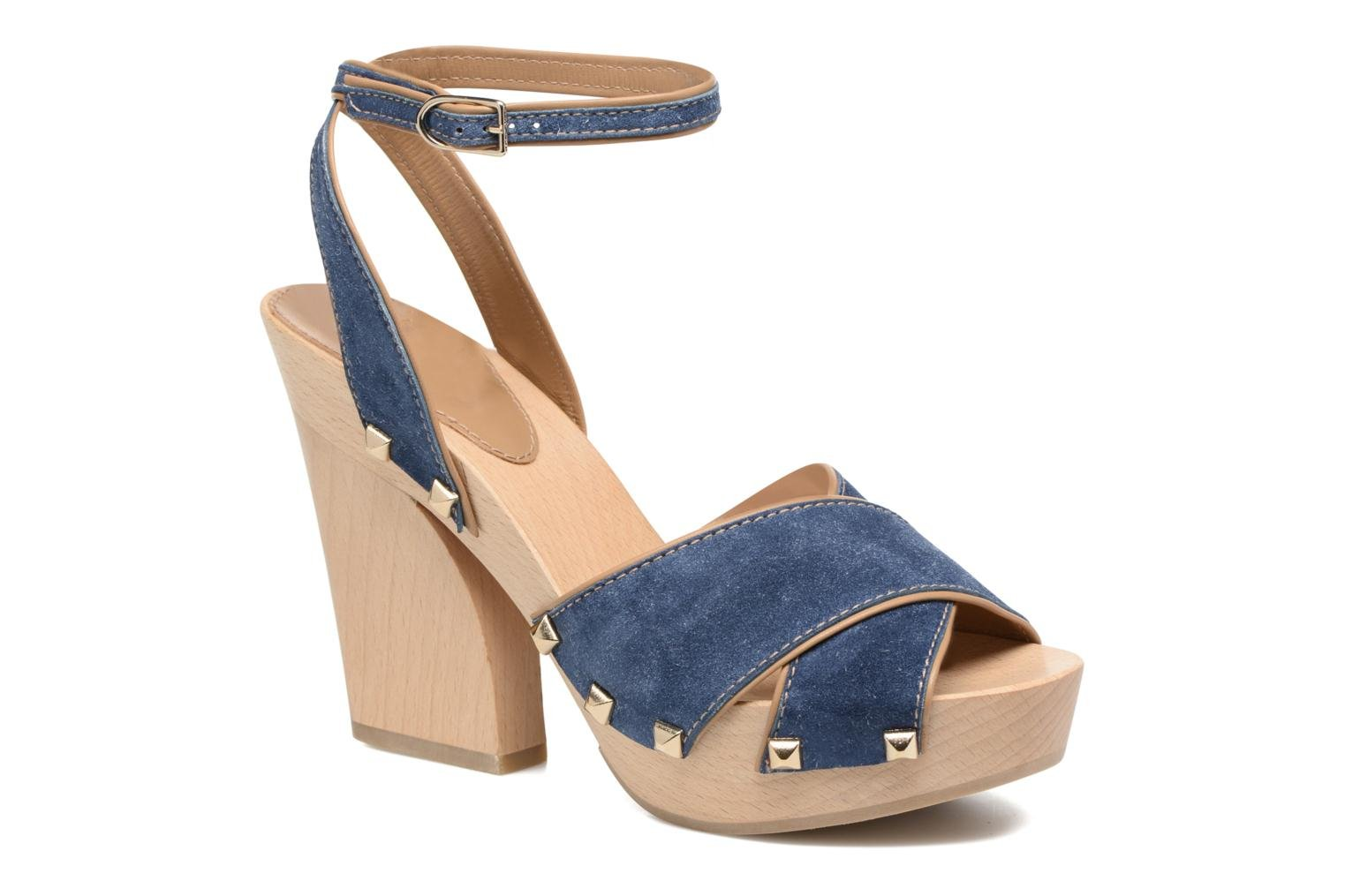Sandals Sonia Rykiel Sandale Sabot Blue detailed view/ Pair view