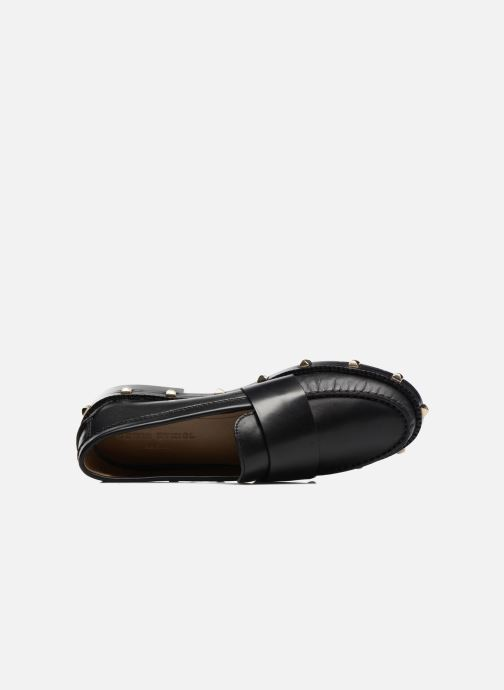 Loafers Sonia Rykiel Mocassin Clous Black view from the left