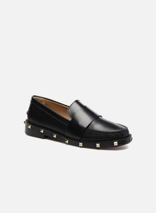 Loafers Sonia Rykiel Mocassin Clous Black detailed view/ Pair view