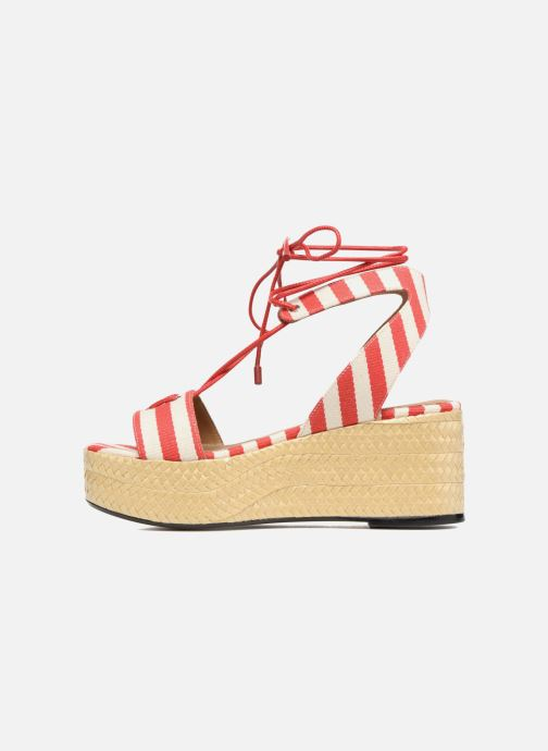 Sandals Sonia Rykiel Sandale Plateau Red front view