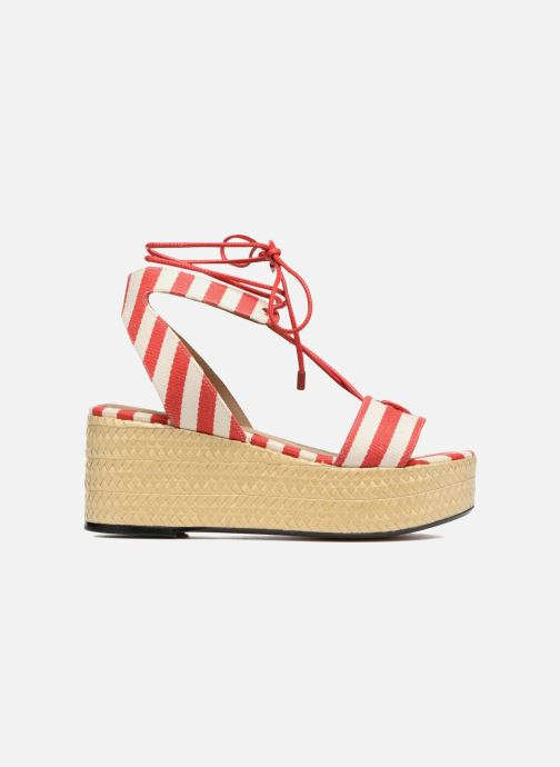 Sandals Sonia Rykiel Sandale Plateau Red back view