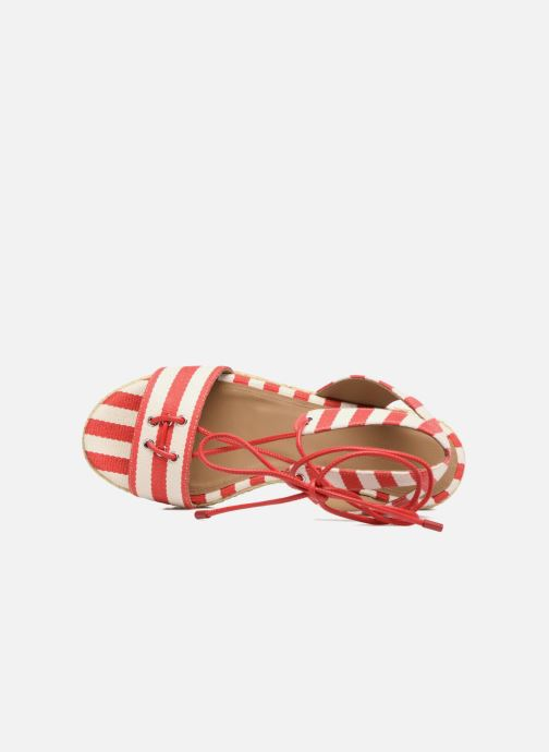 Sandals Sonia Rykiel Sandale Plateau Red view from the left