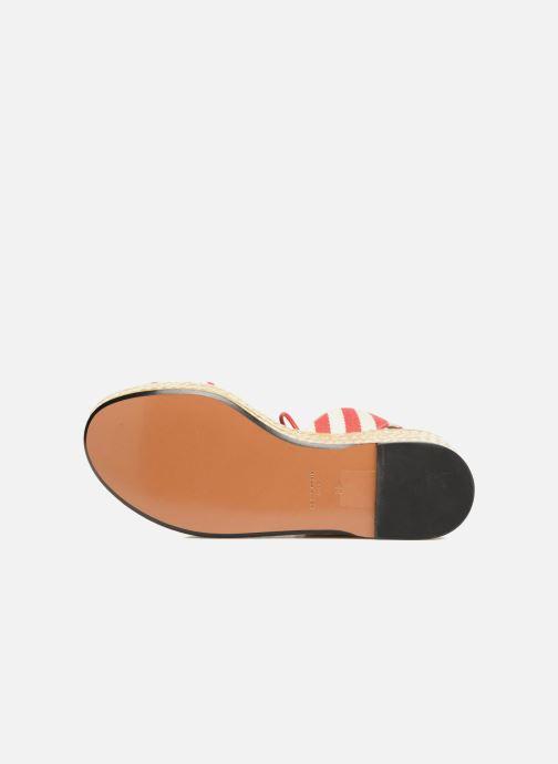 Sandales et nu-pieds Sonia Rykiel Sandale Plateau Rouge vue haut