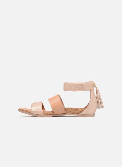 Sandales et nu-pieds UGG Marabel Metallic Argent vue face