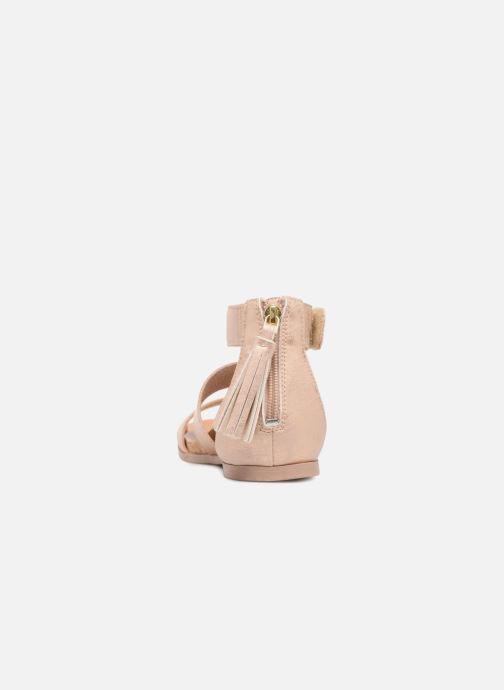 Sandales et nu-pieds UGG Marabel Metallic Argent vue droite