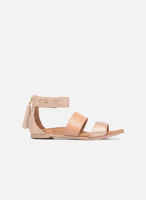 Sandales et nu-pieds UGG Marabel Metallic Argent vue derrière