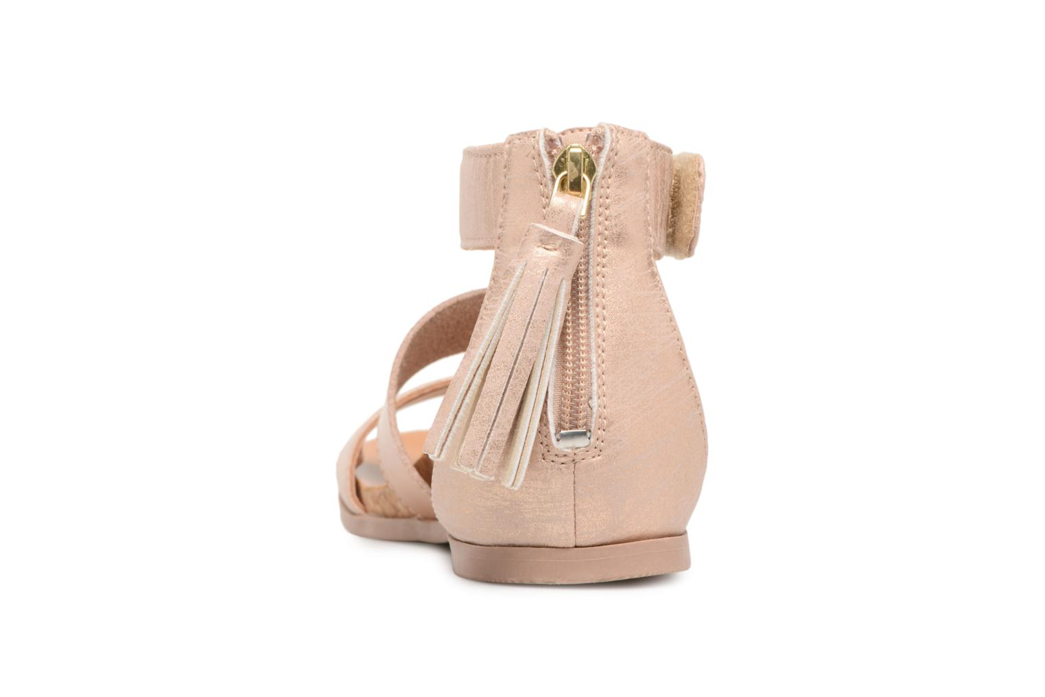 Sandals UGG Marabel Metallic Silver view from the right