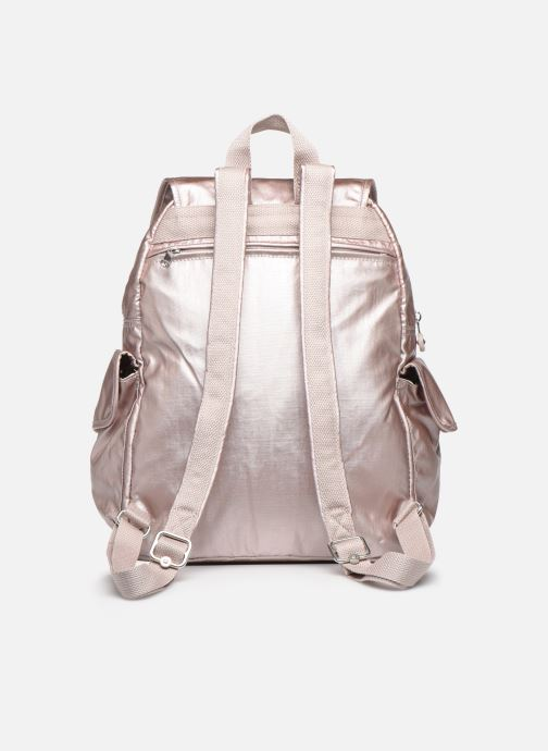 Mochilas Kipling City Pack Rosa vista de frente
