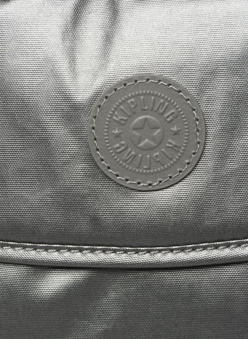 Bolsos de mano Kipling Superwork S Plateado vista lateral izquierda