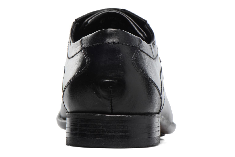 Chaussures à lacets Bugatti Baspare Noir vue droite
