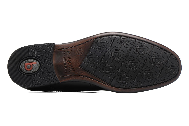 Chaussures à lacets Bugatti Baspare Noir vue haut