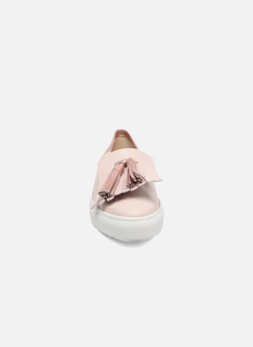 Baskets Fratelli Rossetti Borgia Rose vue portées chaussures