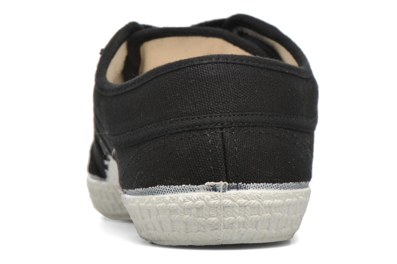 Chaussures à lacets Kawasaki Basic W Noir vue droite