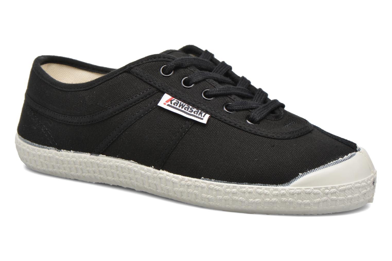 Chaussures à lacets Kawasaki Basic W Noir vue détail/paire