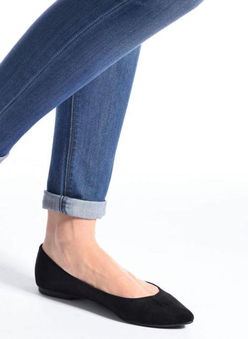 Ballerines I Love Shoes BLOWN Noir vue bas / vue portée sac