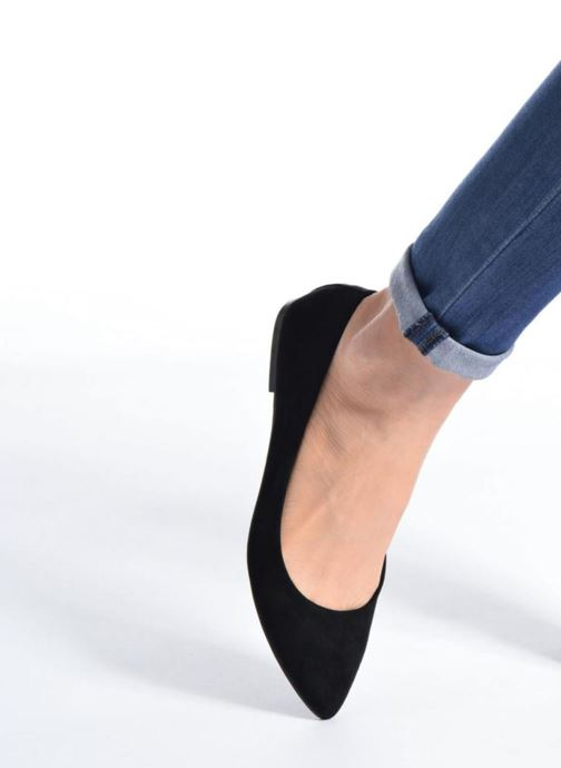 Ballerines I Love Shoes BLOWN Beige vue bas / vue portée sac