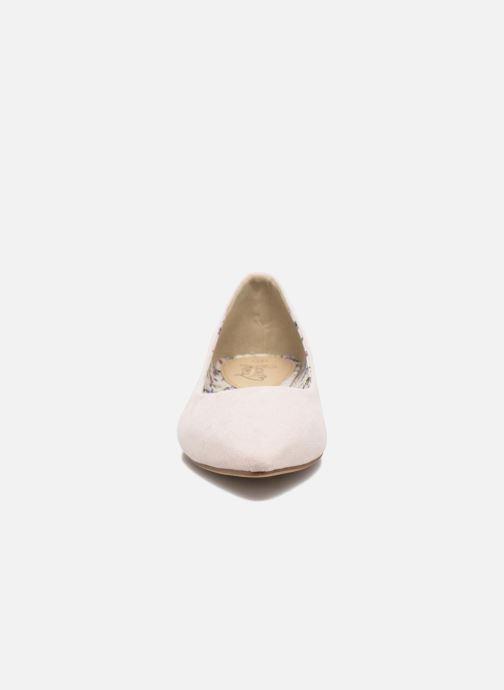 Ballerines I Love Shoes BLOWN Beige vue portées chaussures