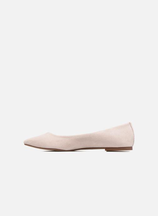 Bailarinas I Love Shoes BLOWN Beige vista de frente