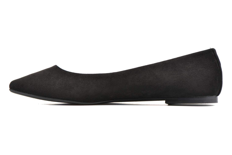 Ballet pumps I Love Shoes BLOWN Black front view