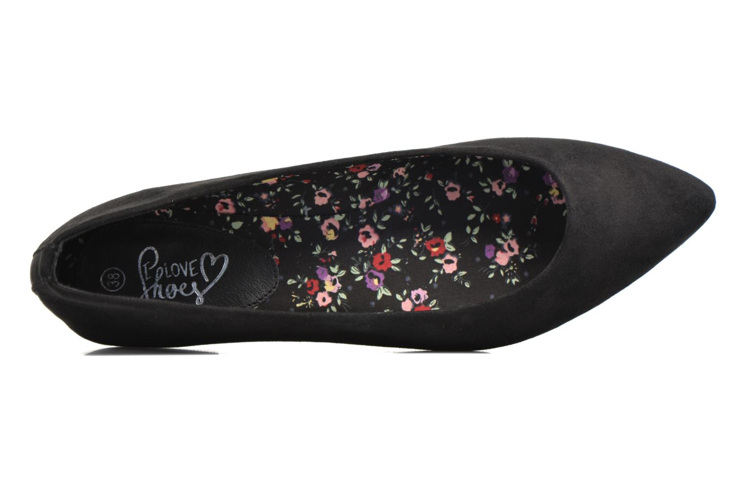 Ballerines I Love Shoes BLOWN Noir vue gauche