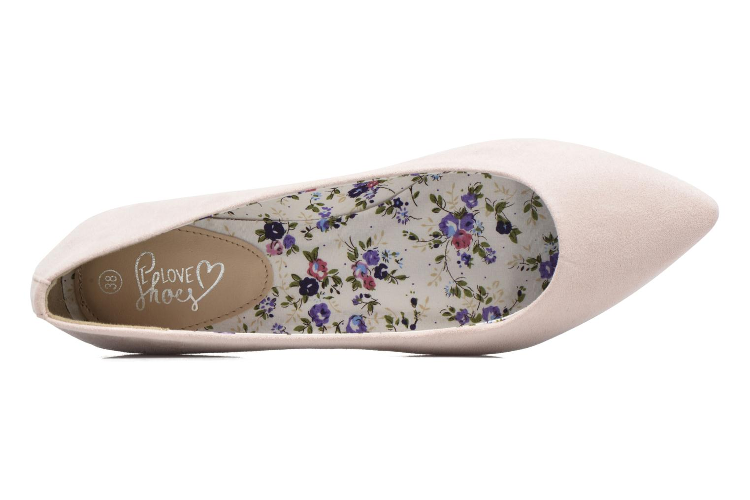 Ballerinaer I Love Shoes BLOWN Pink se fra venstre