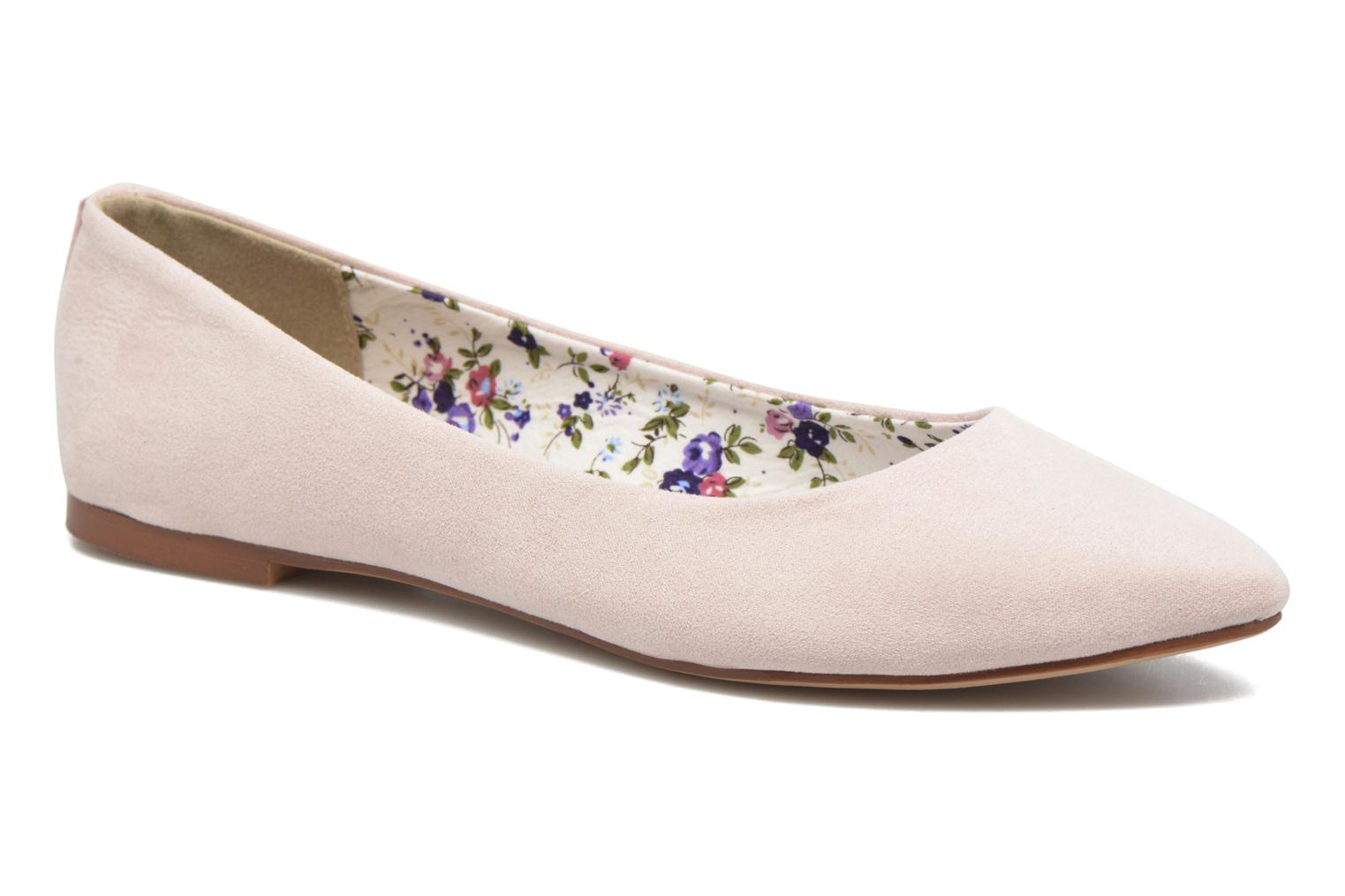 Ballet pumps I Love Shoes BLOWN Pink detailed view/ Pair view
