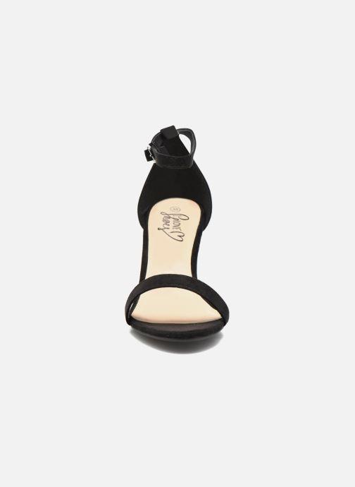 Sandalias I Love Shoes MCGARCIA Negro vista del modelo
