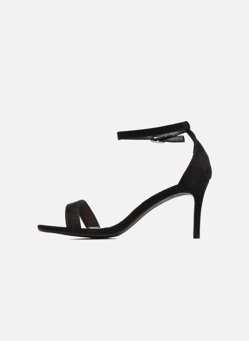 Sandales et nu-pieds I Love Shoes MCGARCIA Noir vue face