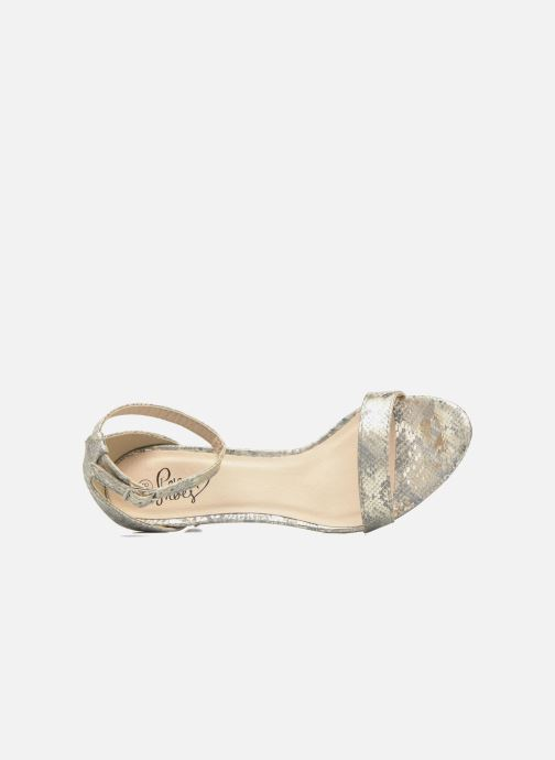 Sandalias I Love Shoes MCGARCIA Beige vista lateral izquierda
