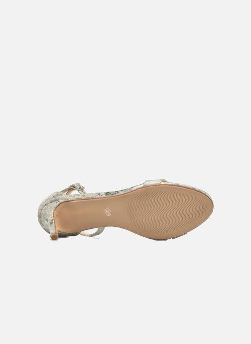 Sandales et nu-pieds I Love Shoes MCGARCIA Beige vue haut
