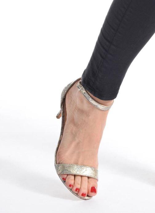 Sandalias I Love Shoes MCGARCIA Azul vista de abajo